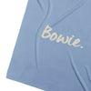 Cornflower Blue & Coconut Personalised Name Blanket