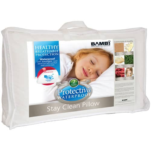 Bambi Stay-Clean Waterproof Pillow Insert