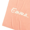 English Rose & Coconut Personalised Name Blanket