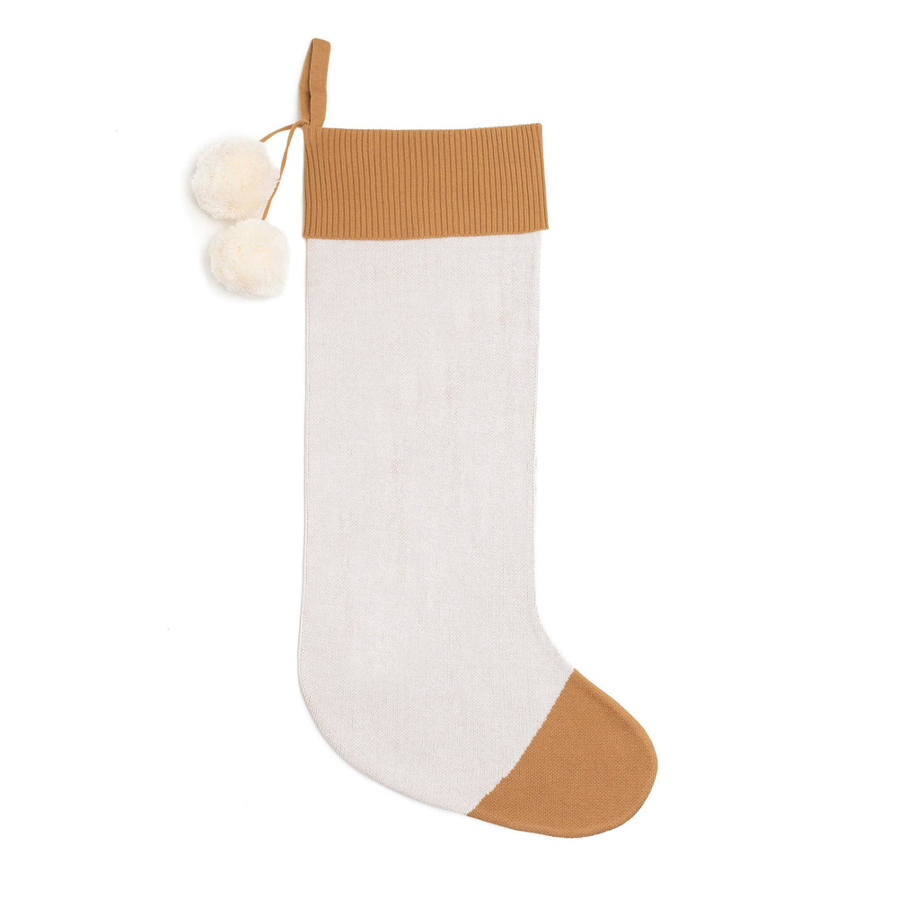 Load image into Gallery viewer, Cupid Christmas Stocking Brown Sugar