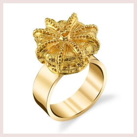 La Corona Gold Ring-Jewelry and More