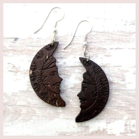 Coconut Moon Earrings for $18.00 at Jewelry and More