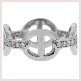 Mister  Cable Ring - Chrome for $17.00 at Jewelry and More