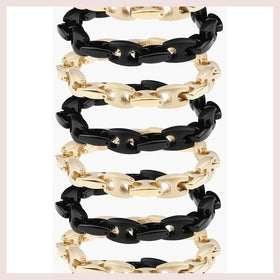 Mister Boss Bracelet - Black for $43.00 at Jewelry and More