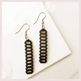 Coconut Honeycomb Earrings for $24.00 at Jewelry and More