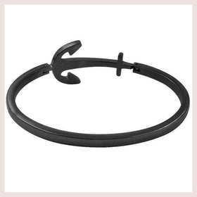 *Mister Axle Anchor Bracelet - Black for $40.00 at Jewelry and More