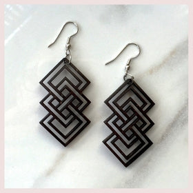Geometric Chandelier Earrings - Unity for $24.00 at Jewelry and More