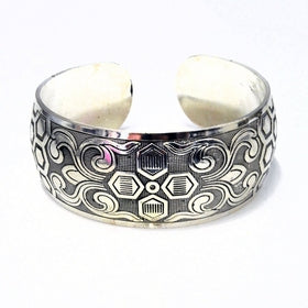 Alaya Zen Cuff Tibetan Silver Bracelet for $45.00 at Jewelry and More