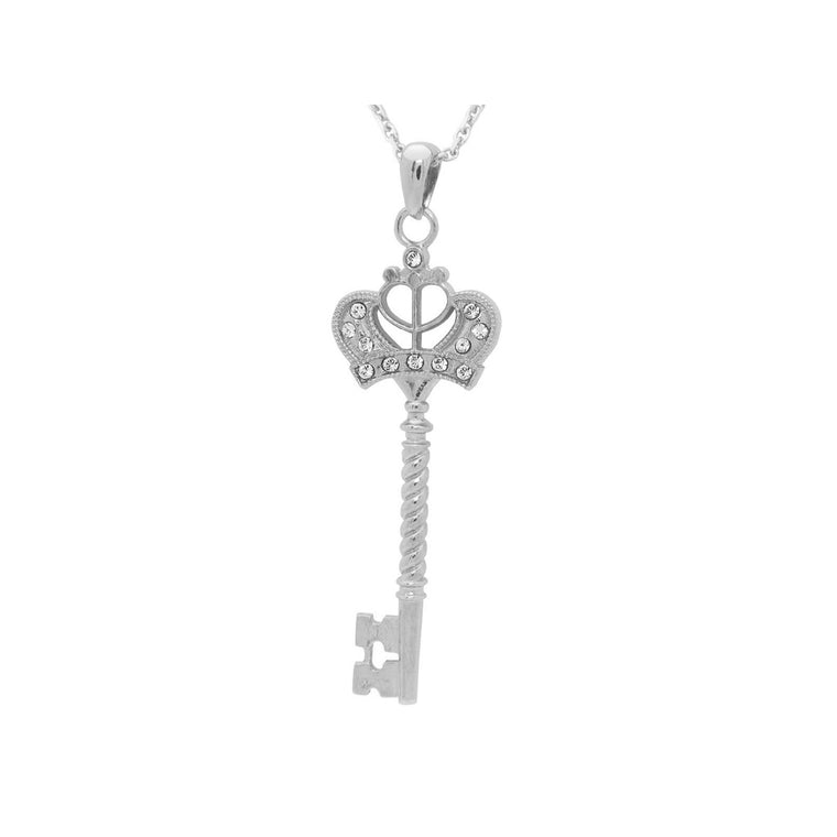 Key to My Heart Necklace, Size: 32
