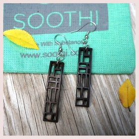 Modern Earrings - Rectangular Panel for $24.00 at Jewelry and More