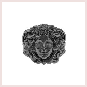 *Mister  Medusa Ring - Black for $50.00 at Jewelry and More