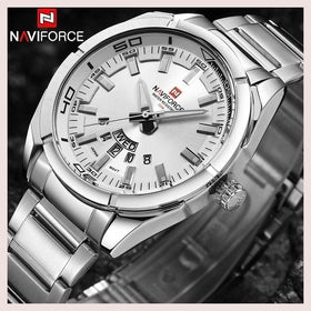 NAVIFORCE Brand Men Watches Luxury sport Quartz 30M waterproof watch