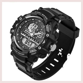 SANDA Military Sport Watch Men Top Brand Luxury Famous Electronic LED Digital Wrist Watch For Men Male Clock Relogio Masculino for $21.99 at Jewelry and More