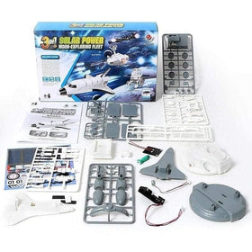 3 in 1 DIY Solar Power Moon Exploring Fleet-toy-Smart Kids Only