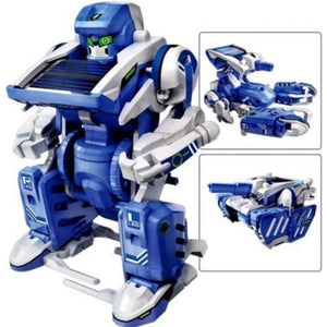 3 in 1 Solar Robot Transformer Kit-toy-Smart Kids Only