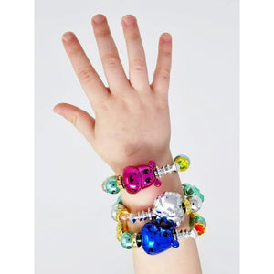 3-Pack Twisty Animal Bracelets - Random Selection (all Metallic Finish)-toy-Smart Kids Only