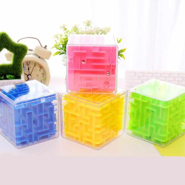 3D Magic Maze Cube-toy-Smart Kids Only