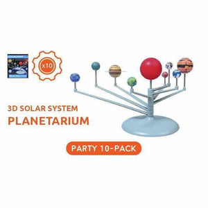 3D Solar System Planetarium Kit - Party Pack - 10 Kits-toy-Smart Kids Only