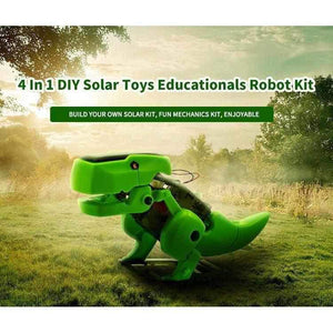 4 in 1 Solar Powered DIY Robot Kit - Mega Pack - 20 Kits-toy-Smart Kids Only