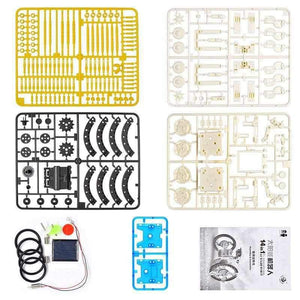 Advanced 14 in 1 DIY Solar Robot Kit - Mega Pack - 20 Kits-toy-Smart Kids Only