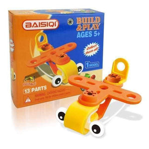 Beginner Build & Play Adventure Vehicles - Super Flexible-toy-Smart Kids Only