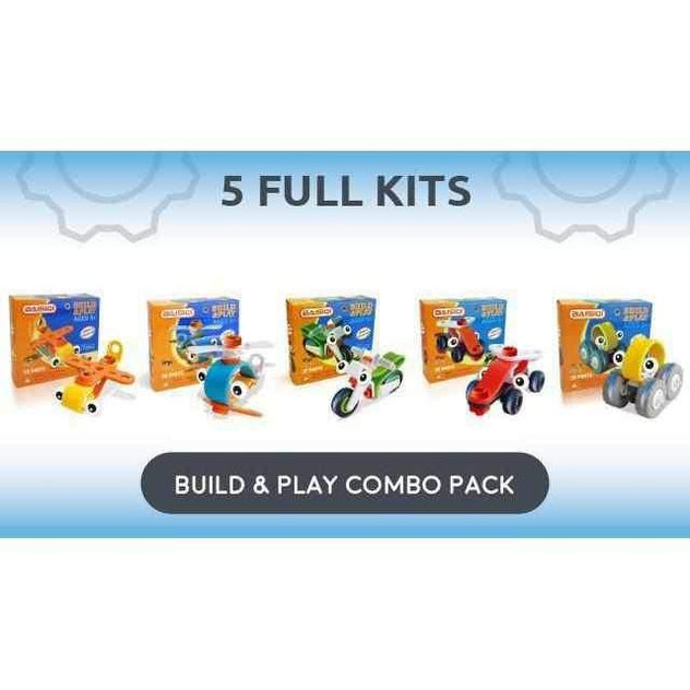 Beginner Build & Play Combo Pack-Smart Kids Only