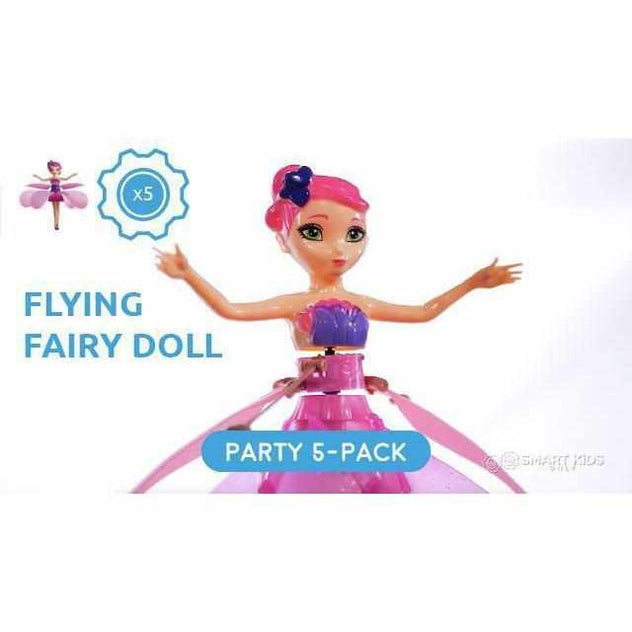 Flying Fairy Doll - Party Pack - 5 units-toy-Smart Kids Only