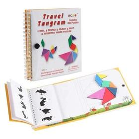 Magnetic Travel Tangram Book XL-toy-Smart Kids Only