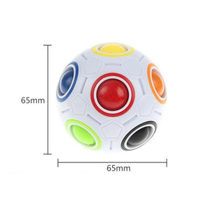 Multi-Color Push Ball Brain Teaser - Party Pack - 10 units-toy-Smart Kids Only