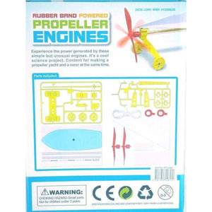 Rubber Band Powered Propeller Engines-toy-Smart Kids Only