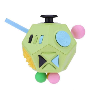 The DODECAHEDRON Ultimate 12-Sided Fidget Cube-toy-Smart Kids Only