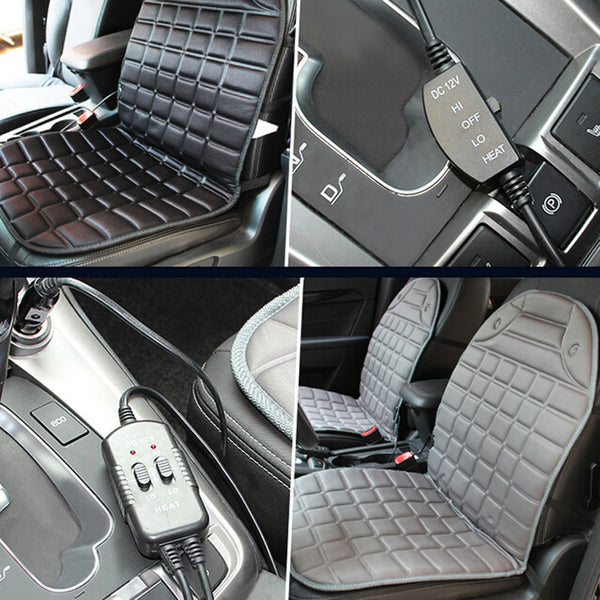 Universal Heated Car Seat Cushion Cover
