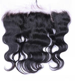 Mink Brazilian Body Wave Frontal (Transparent)
