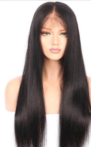 Lace Frontal Straight Wig (Transparent)