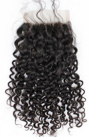Burmese Curly Lace Closure