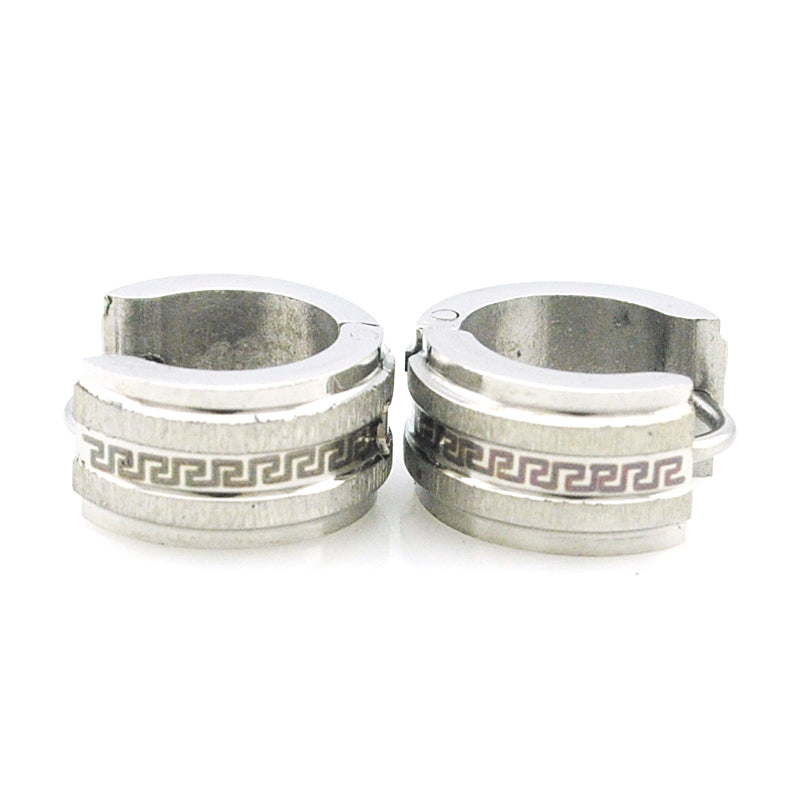 Stainless Steel Stud Earrings for men - crowned Fashions
