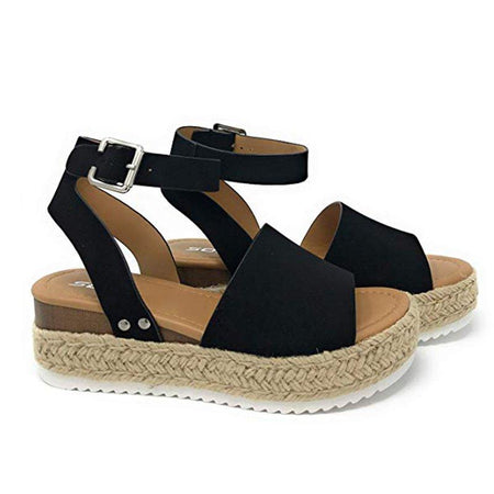 EMRY ESPADRILLE SANDALS IN WHITE