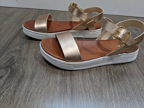 ROSE GOLD MELVINA SANDALS