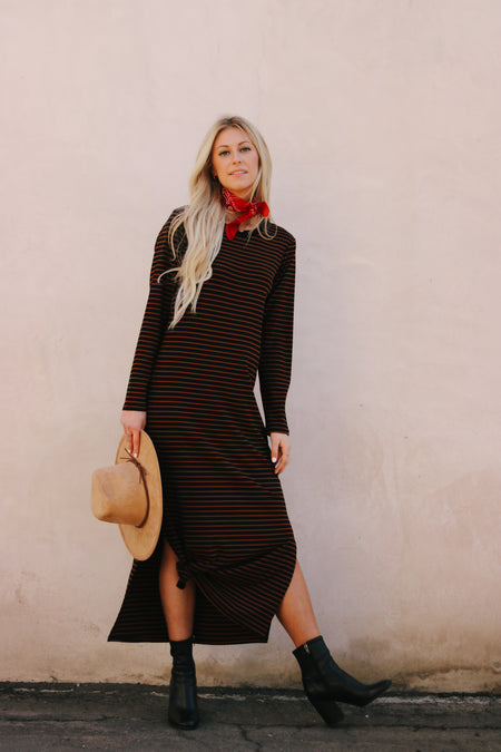 SECOND TO NONE TIE JUMPER DRESS