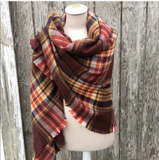 FALLING FOR PLAID SCARF