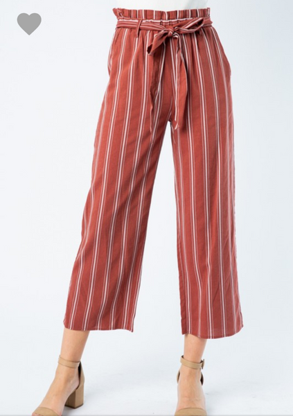 CLOE STRIPE PANTS