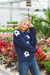 GERBERA DAISY SWEATER
