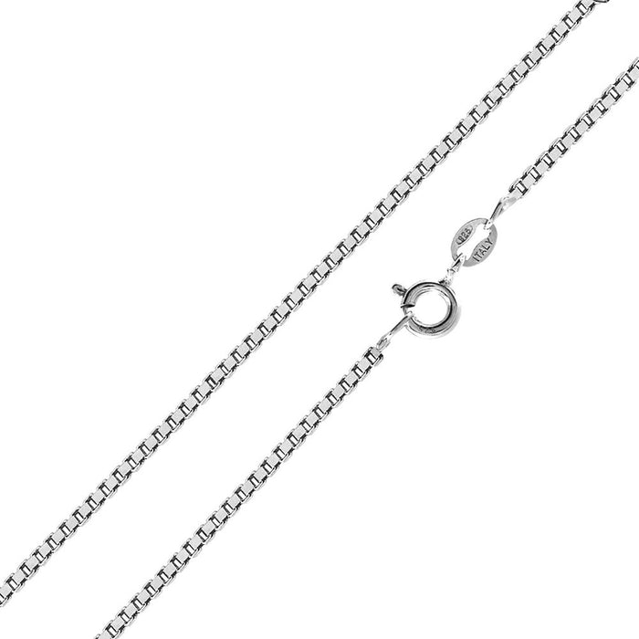 STERLING SILVER HIGH POLISHED BOX CHAINS