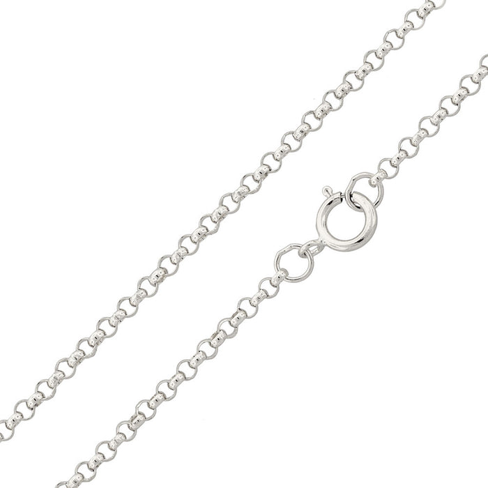 STERLING SILVER HIGH POLISHED ROUND ROLO CHAINS