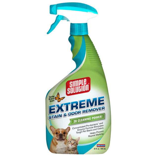 Extreme Spring Breeze Stain and Odor Remover 32oz