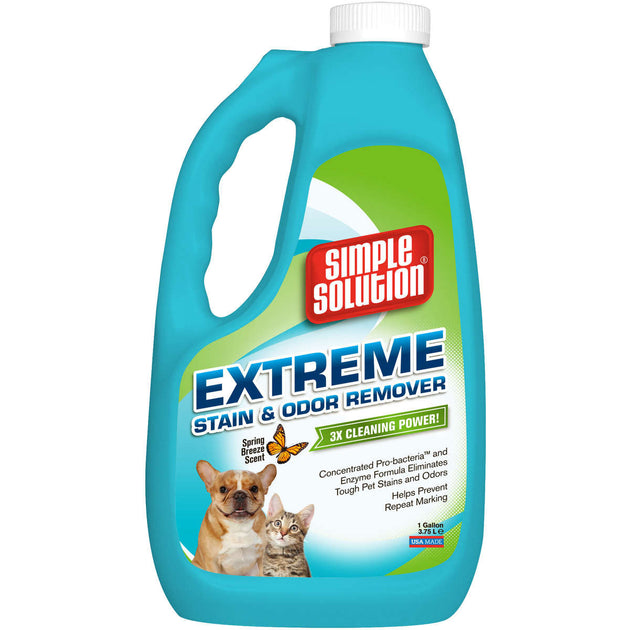 Extreme Spring Breeze Stain and Odor Remover 1 Gallon