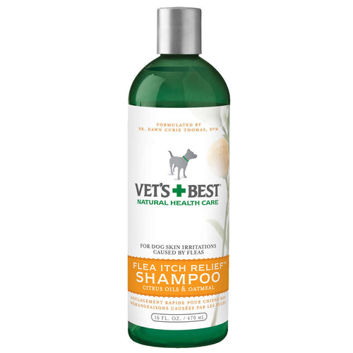 Flea Itch Relief Dog Shampoo 16oz