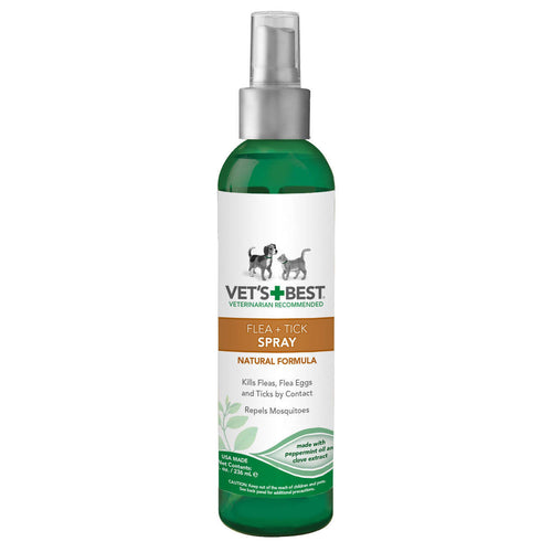 Pet Natural Flea and Tick Spray 8oz