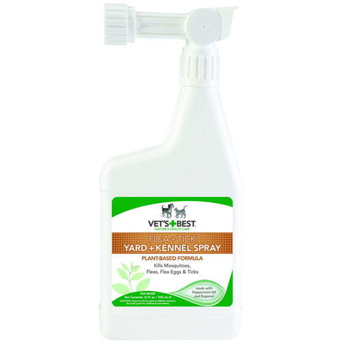 Pet Flea and Tick Yard and Kennel Spray 32oz