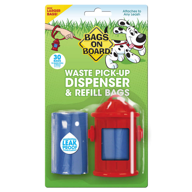 Fire Hydrant Dispenser and Pick-up Bags 30 bags